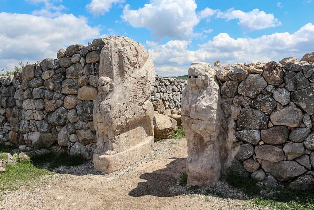 ハットゥシャ スフィンクスの門
