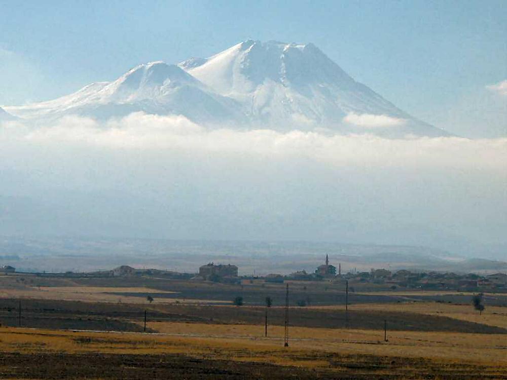ハサン山 世界遺産カッパドキア