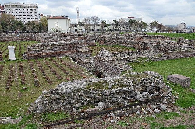 ローマ浴場跡
