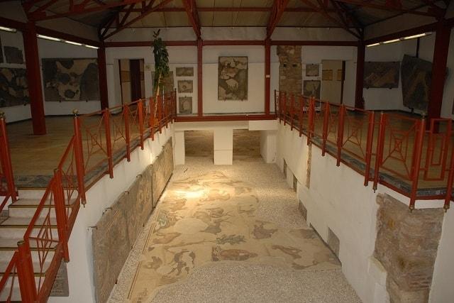 大宮殿モザイク博物館、イスタンブール