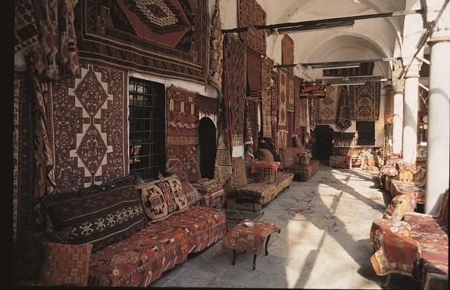 トルコ絨毯店