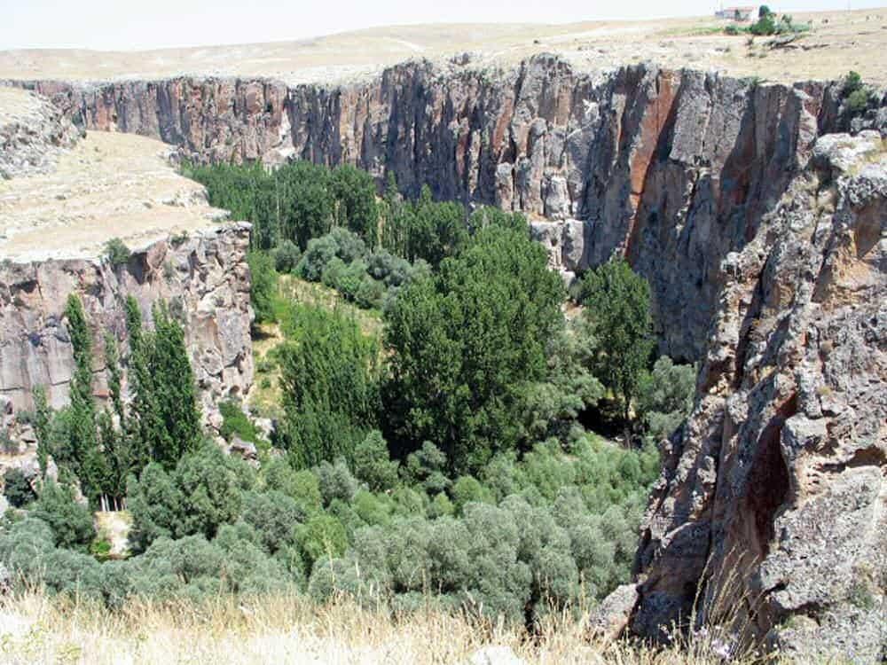 ウフララ渓谷 世界遺産カッパドキア
