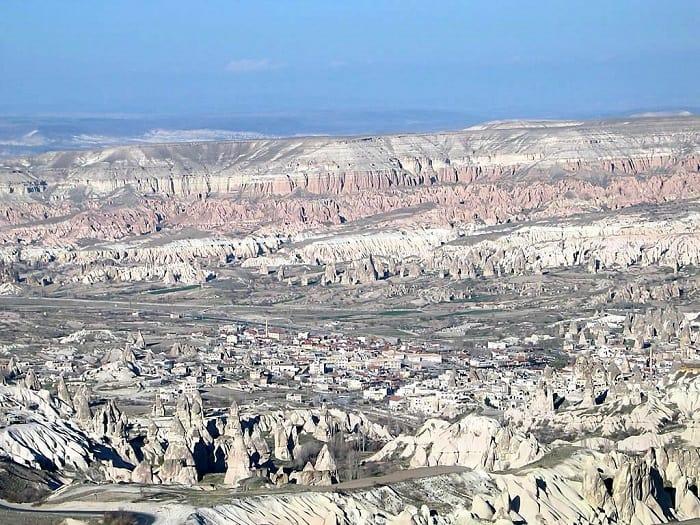 ギョレメの谷