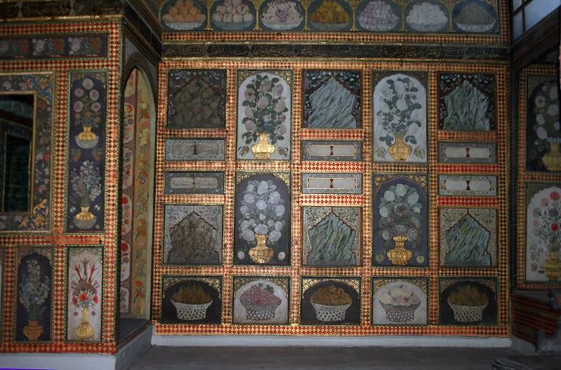 トプカプ宮殿 スルタン・アーメットの部屋