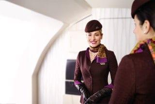 エティハド航空 エコノミークラス