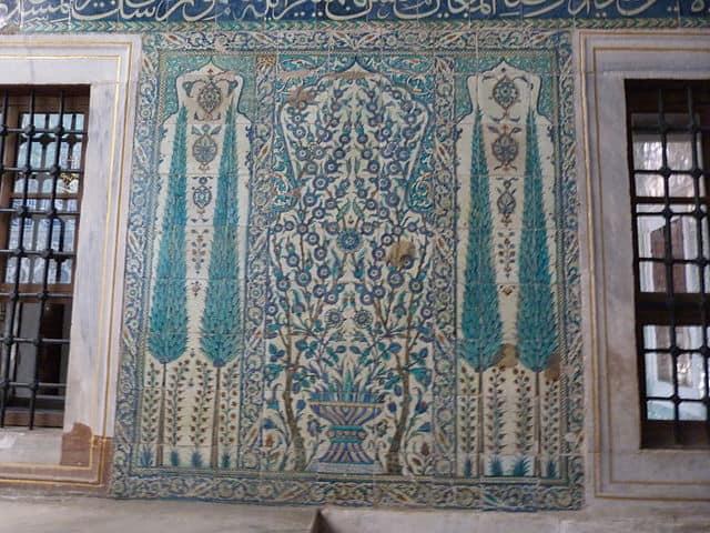 トプカプ宮殿 ハレムのタイル