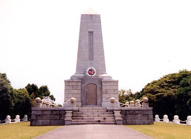 エルトゥールル号の慰霊碑 串本町