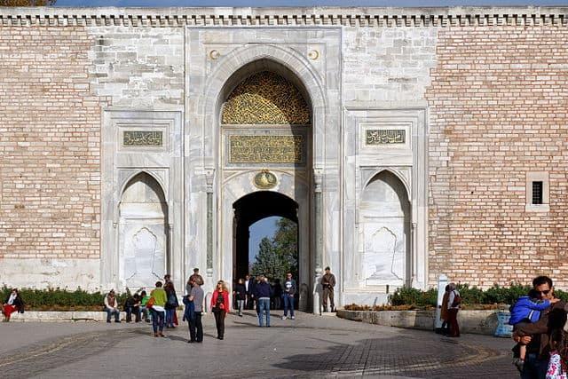 トプカプ宮殿 皇帝の門