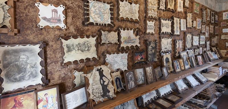パピルス ペルガモン図書館 羊皮紙