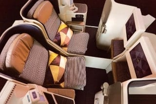 エティハド航空 ビジネスクラス