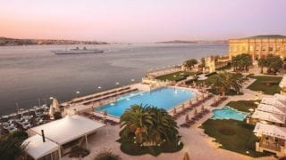 Ciragan Palace View