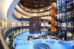 パムッカレ:温泉スパ付きホテル