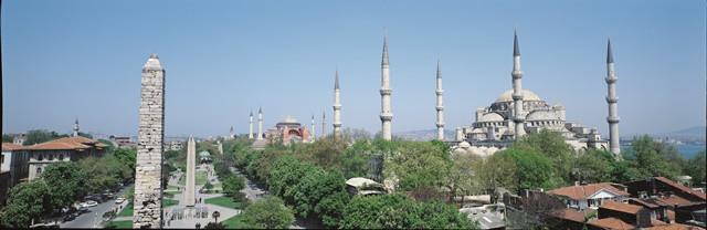 イスタンブール観光 ブルーモスク