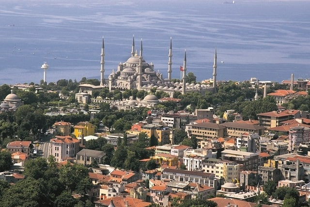 イスタンブール、ブルーモスク