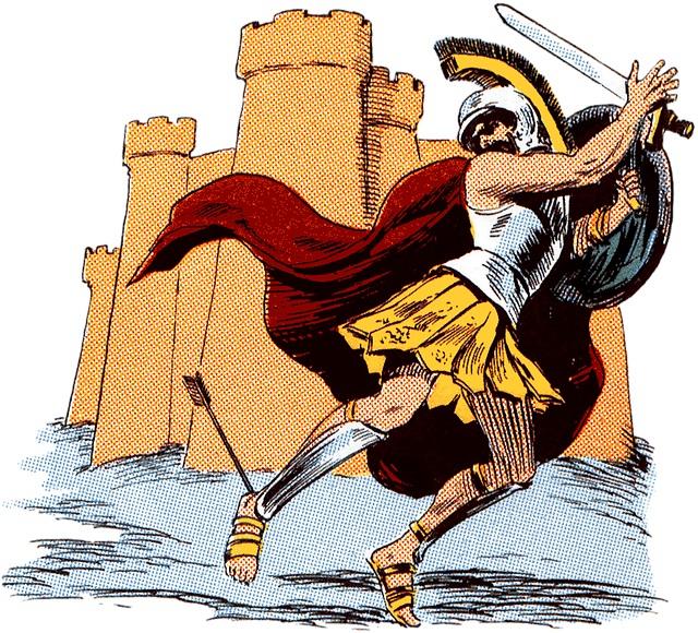 アキレウスの死