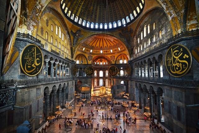 イスタンブール・アヤソフィア博物館