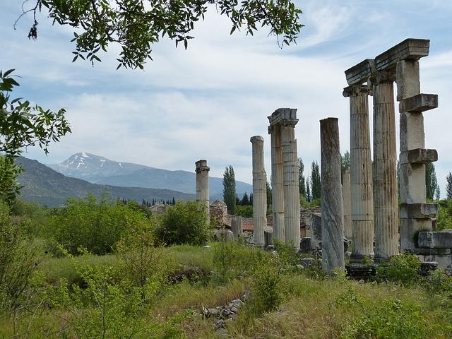 アフロディシアス 遺跡 トルコ