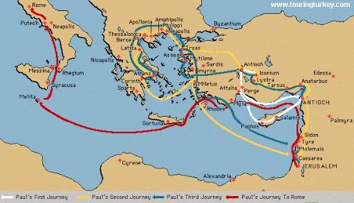 パウロの旅