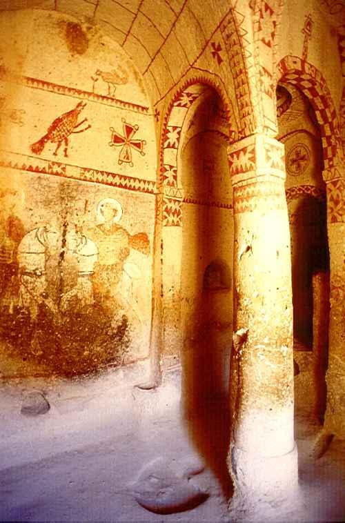聖バルバラ教会 世界遺産カッパドキア