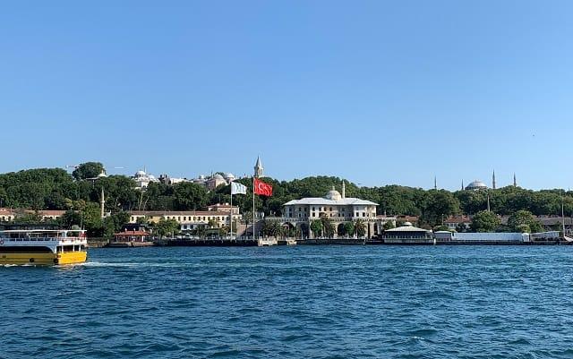 ボスポラス海峡クルーズ イスタンブール旧市街