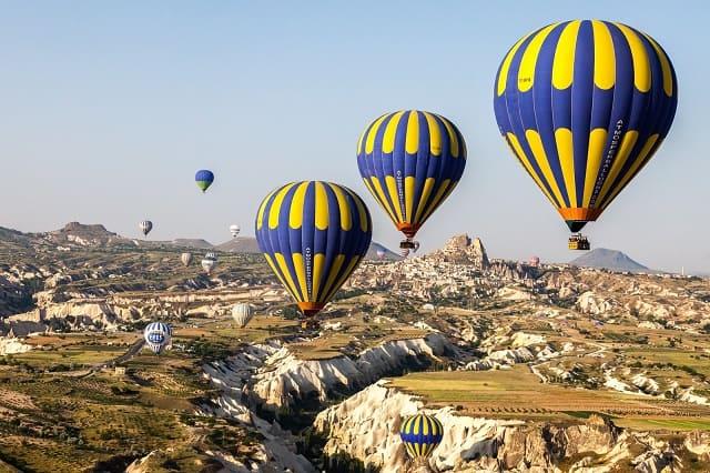 カッパドキア熱気球ツアーについて