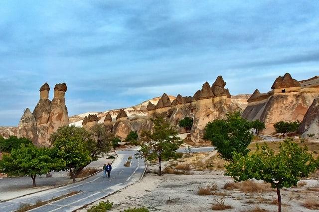 カッパドキア パシャバー キノコ岩