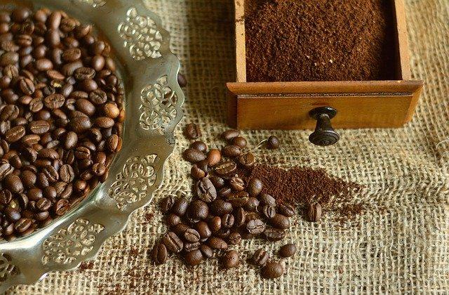 トルココーヒー豆の焙煎