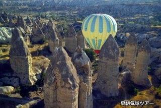 カッパドキア気球