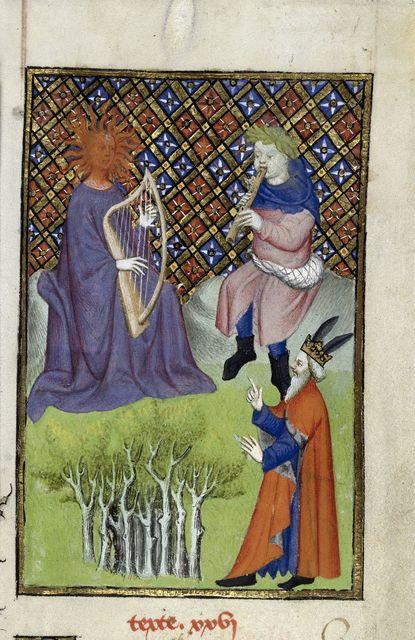 ミダス王 王様の耳はロバの耳