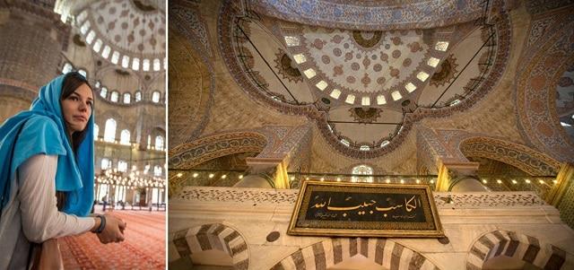 「モスク」スカーフ