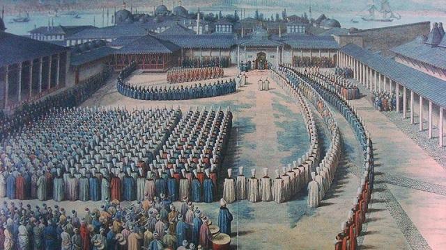 オスマン帝国のパレード