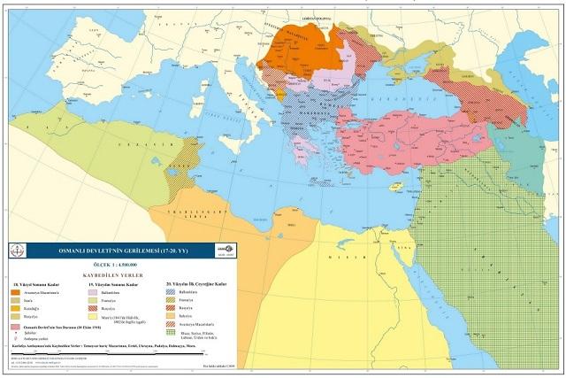 オスマン帝国マップ