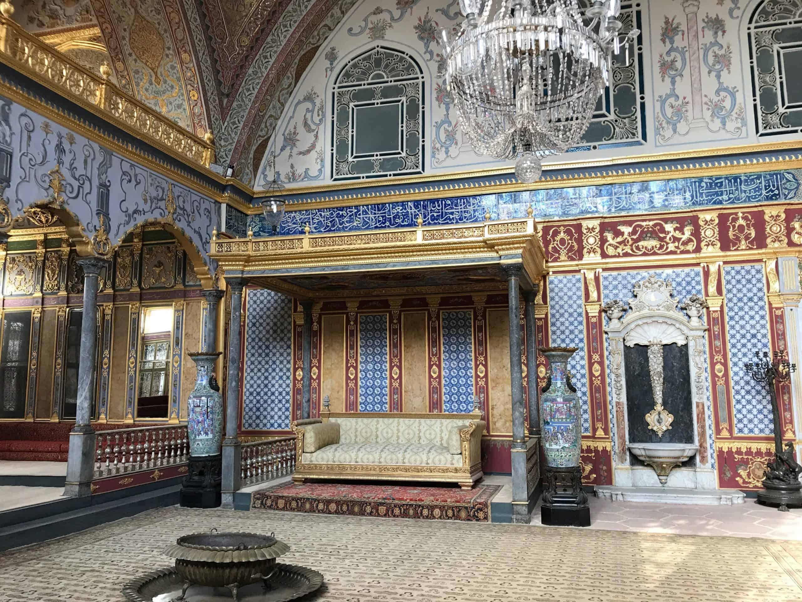 トプカプ宮殿 スルタンの広間