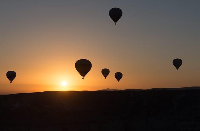カッパドキア 気球ツアー
