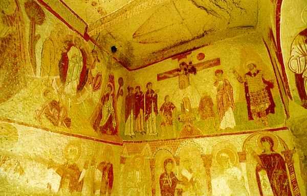 サクル教会 世界遺産カッパドキア