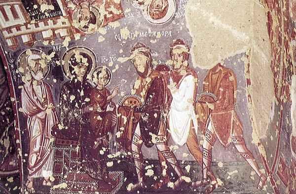 チャクル教会 世界遺産カッパドキア