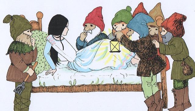 グリム童話 白雪姫
