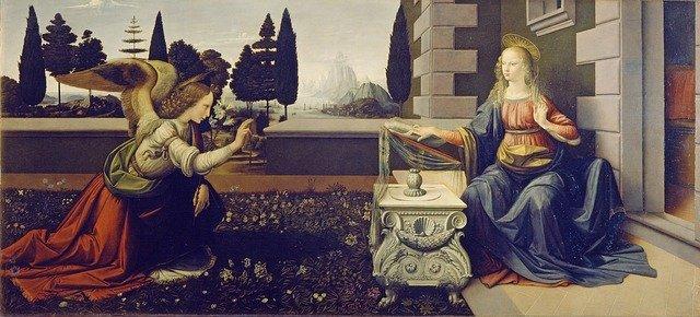 聖母マリア 受胎告知