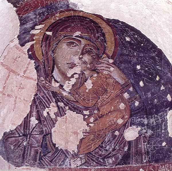 エスキ・トカル教会 世界遺産カッパドキア