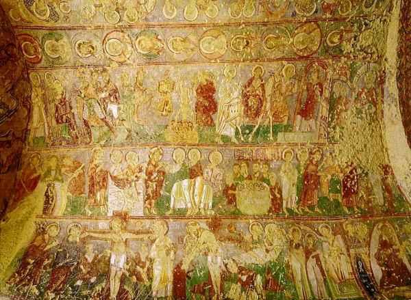 イェニ・トカル教会 世界遺産カッパドキア