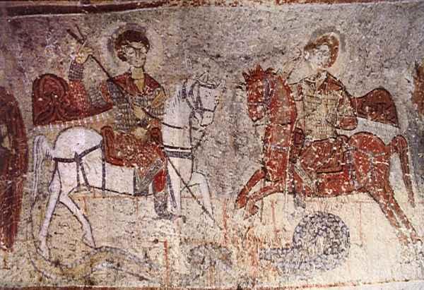 ユランル教会 世界遺産カッパドキア